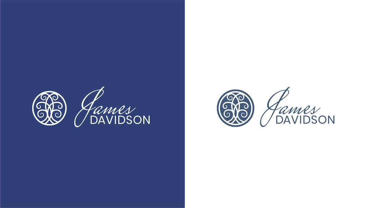 James Davidson Acupuncturist logo design