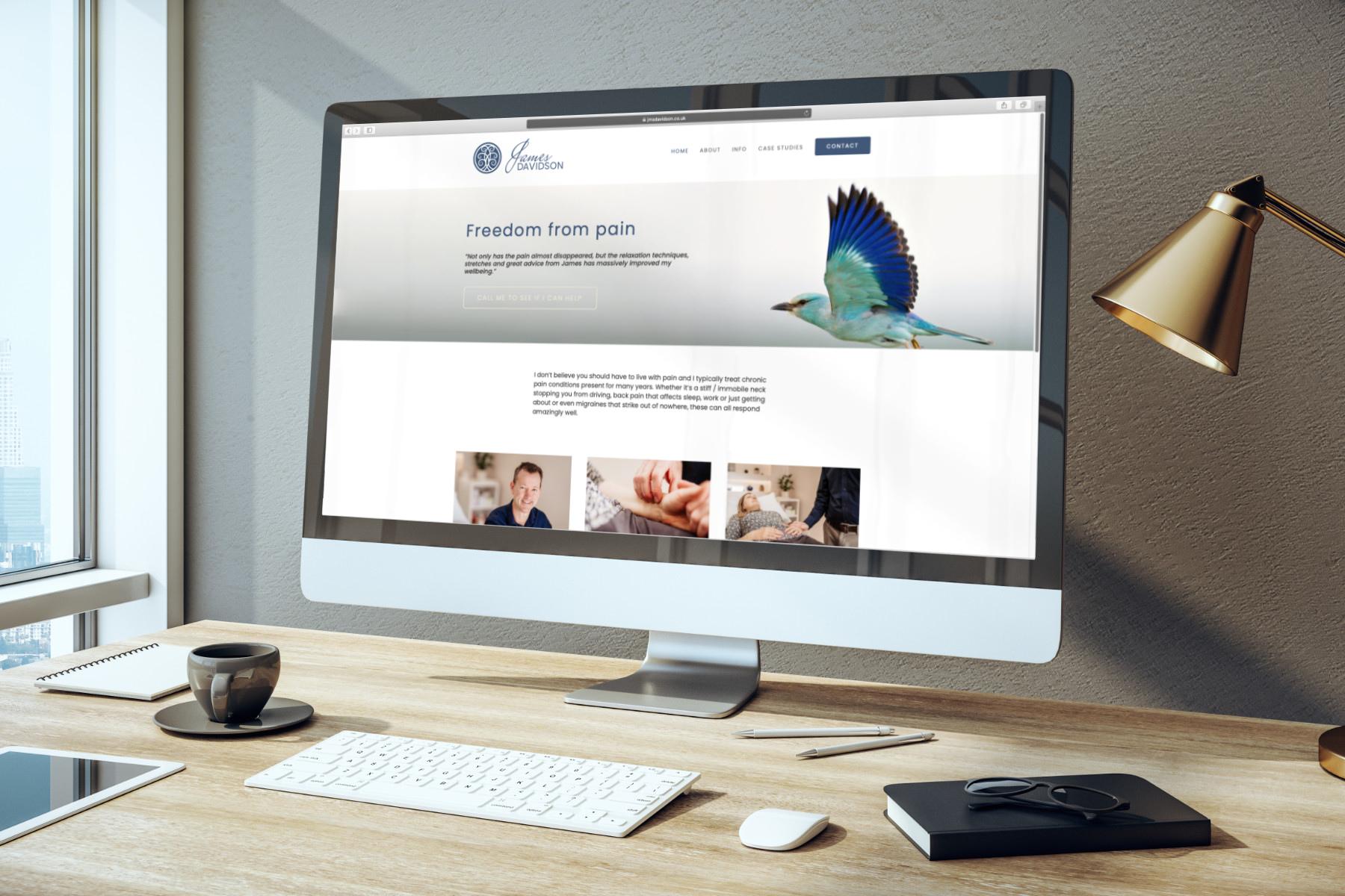 Acupuncture website design